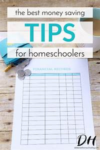 The Best Money Saving Tips for Homeschoolers - Deliberate ...