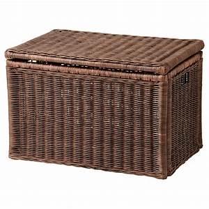 Runde Schachtel Basteln : gabbig storage box dark brown 71 x 45 x 48 cm ikea ~ Frokenaadalensverden.com Haus und Dekorationen