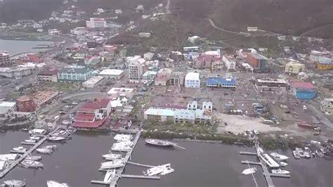 Hurricane Irma Tortola Boats by Hurricane Irma Causes Destruction On British Virgin Island