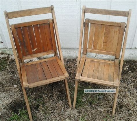 vintage wooden folding chairs  images wooden