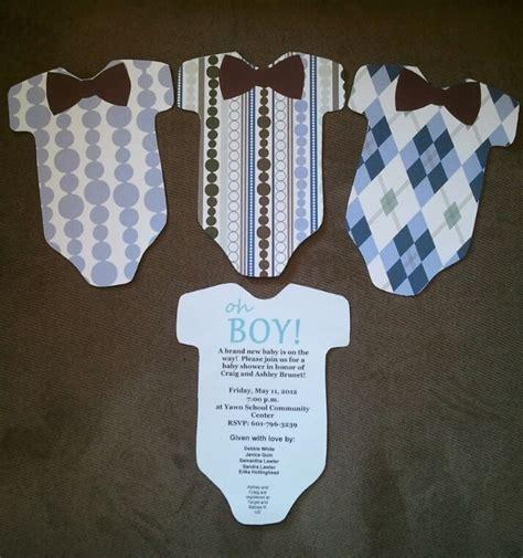 How To Make Homemade Baby Shower Invitations Baby Shower
