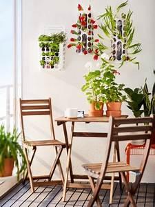 Astuce Pour Sol Glissant : petit balcon 10 astuces gain de place ~ Premium-room.com Idées de Décoration