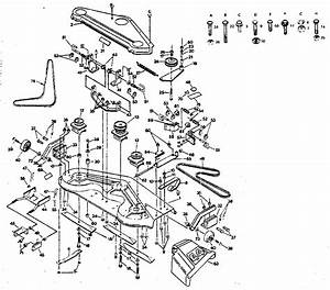 33 Huskee Lt4200 Drive Belt Diagram