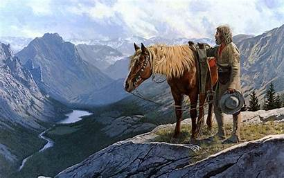 Wild West Wallpapers Cowboy Horse Desktop Cave