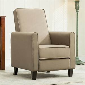recliner club chair living room home modern design recline With document fabric chair