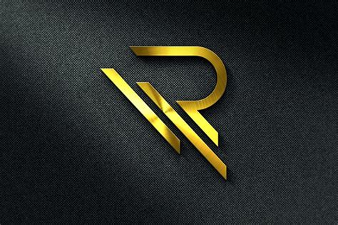 letter r logo template logo templates creative market