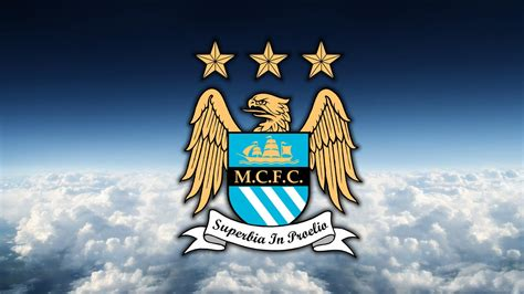 Manchester City Logo Wallpaper Download For Free