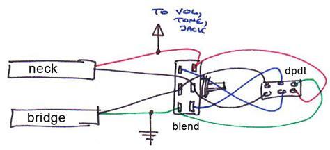 blend pot series switch for jazz bass talkbass