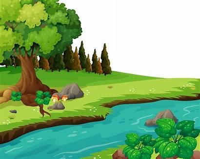 Nature Clipart Park Clip Transparent Fundo Cartoon