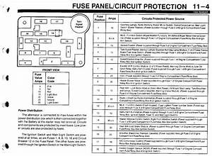 94 Ranger Fuse Block Diagram