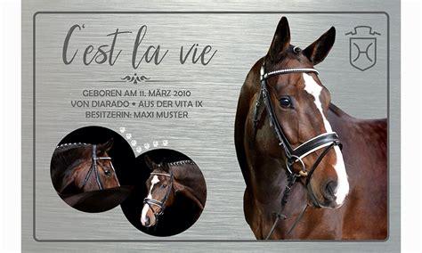 individual horses individuelle boxenschilder mehr