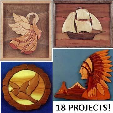 intarsia scroll  projects pattern collection
