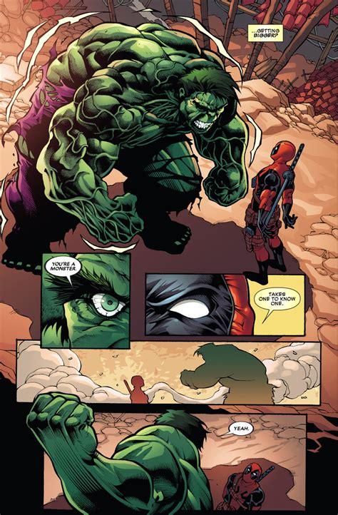 deadpool     hulk  kill  comicnewbies