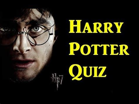 Harry Potter Quiz (harry Potter And The Deathly Hallows