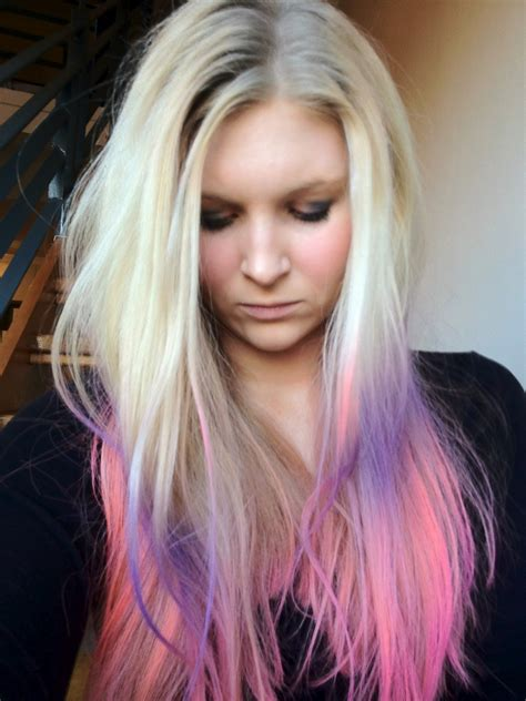 Dip Dyed Vs Ombre On Pinterest Dip Dyed Hair Purple
