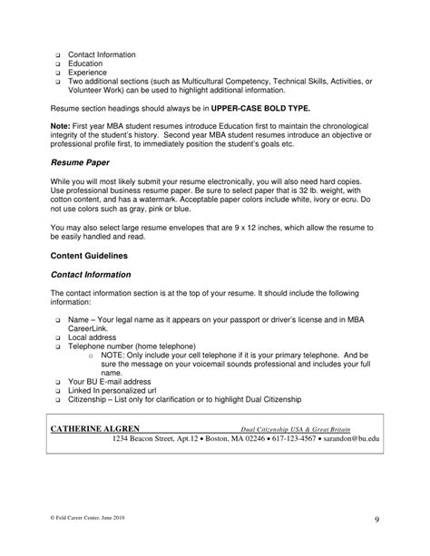 Additional Information On Resumeadditional Information On Resume by Writing Mba Resumes