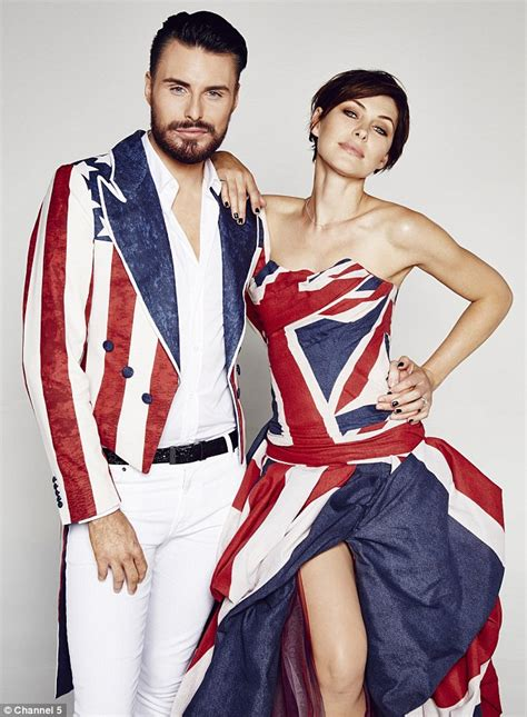 celebrity big brother 39 s emma willis flashes her endless