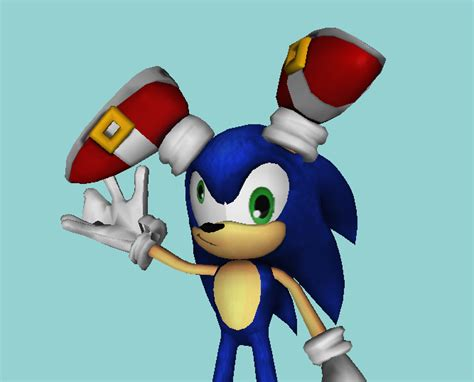 Sonic Derp 2 (aka Never Give Me A Good Model) By