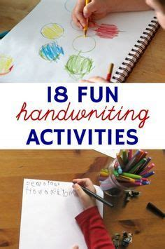 fun handwriting activities  kids   reluctant