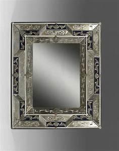 Miroir Vénitien Ancien : miroir de venise ancien ~ Preciouscoupons.com Idées de Décoration