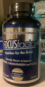 Focusfactor Brain Supplement 150 Pills  Support Memory  Concentration  Focus 726000104073