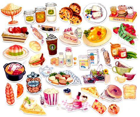 scrapbooking cuisine aliexpress com buy 40pcs self made food bread desert