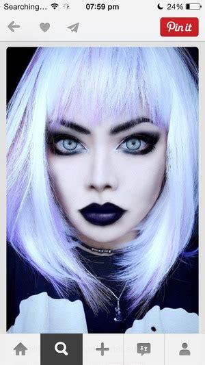 pastel goth makeup beautylish