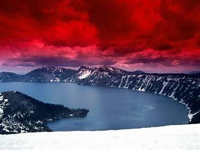 Crater Lake Wallpapers Oregon Desktop Cave Skies