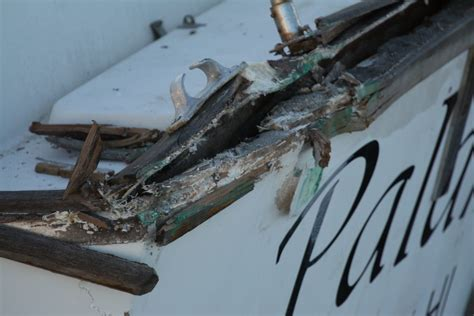 Boat Deck Joint Repair by Hull Deck Joint Repair Cruisers Sailing Forums