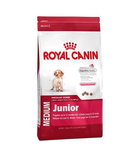 royal canin medium junior royal canin medium junior food 1kg pack of 2 buy royal canin medium junior food 1kg