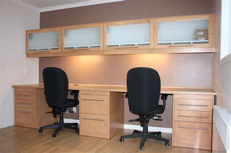 meubles de bureau meuble de bureau sur mesure