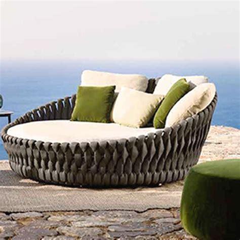 ligo modern waterproof rope woven outdoor big sofa