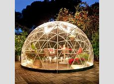 The Garden Igloo 360 Dome perfect for your Inflatable Hot Tub