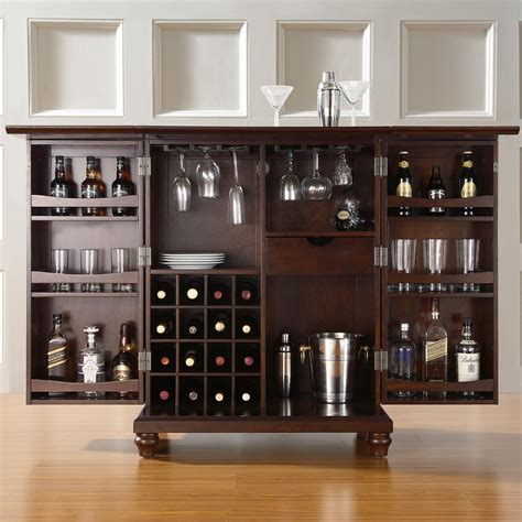 Unique Home Bar Furniture by 42 Top Home Bar Cabinets Sets Wine Bars 2019