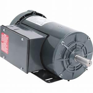 Leeson Farm Duty Ac Electric Motor  U2014 2 Hp  1800 Rpm  230