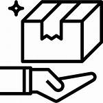 Package Shipping Handling Icon Service Flaticon Icons