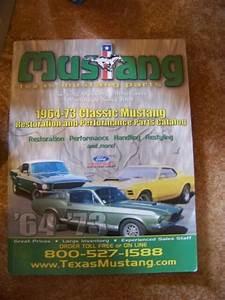 TEXAS FORD MUSTANG PARTS CATALOG 1964-1973 | eBay
