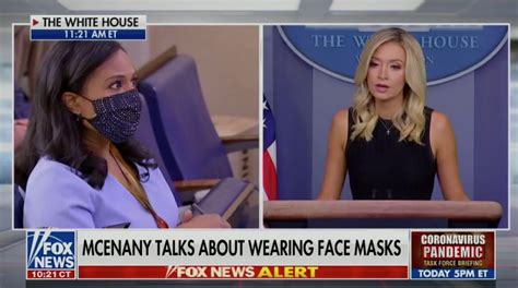 Kristen Welker Presses Kayleigh McEnany on Trump, Masks