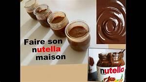 Nutella Maison Recette : le nutella maison recette youtube ~ Nature-et-papiers.com Idées de Décoration