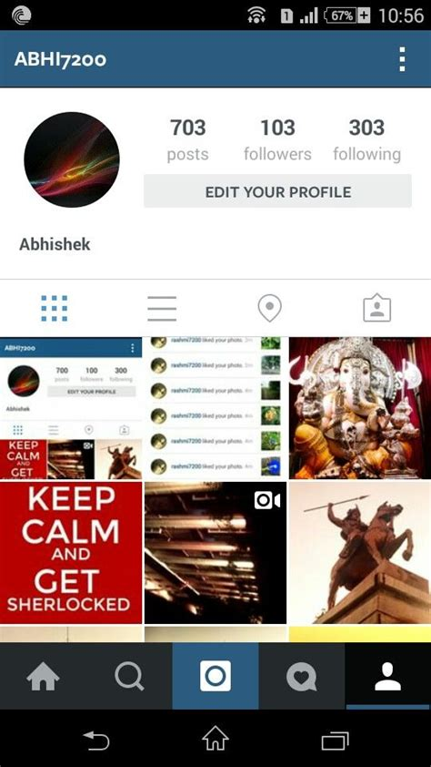 Instagram Format Instagram Profile With Posts Followers And Following In