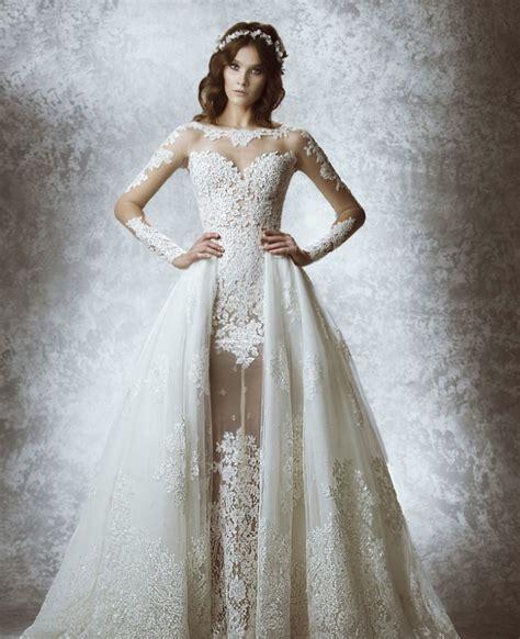 used pronovias wedding dresses zuhair murad wedding dresses 2015 fall modwedding