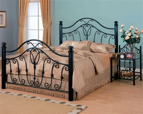 black wrought iron headboard wrought iron beds for a wonderful mediterranean flair in
