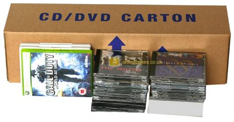 cd dvd packing boxes storage moving archive removal box uk