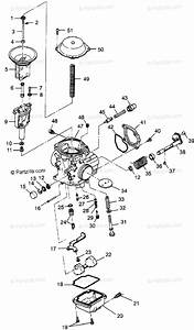Polaris Atv 1998 Oem Parts Diagram For Carburetor S98ae50e