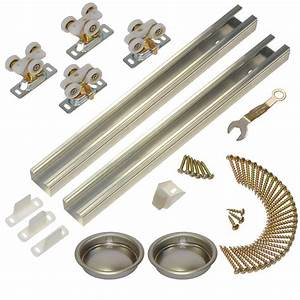 johnson hardware 111sd series 60 in track and hardware With 60 inch barn door hardware