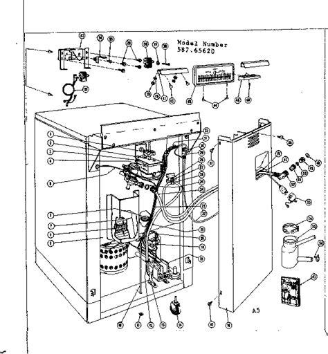 Kenmore Washer Wiring Diagram