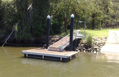 pontoons  hawkesbury river australia marine dock