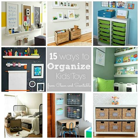 How To Organize Kids' Bedrooms {august Hod}  Clean And
