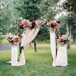 wedding ceremony flowers 25 best ideas about wedding arbor decorations on outdoor wedding arbors outdoor