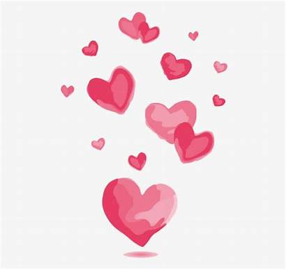 Heart Pink Vector Clipart Transparent Valentine Hearts